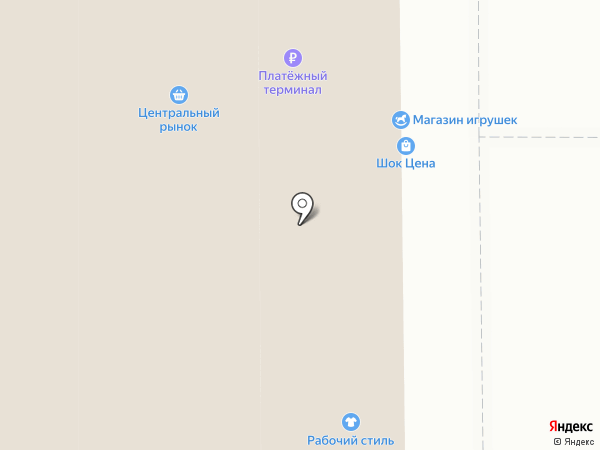 Веселый Праздник на карте Магнитогорска