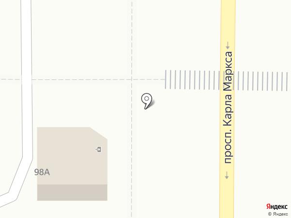 Салон-магазин цветов на карте Магнитогорска