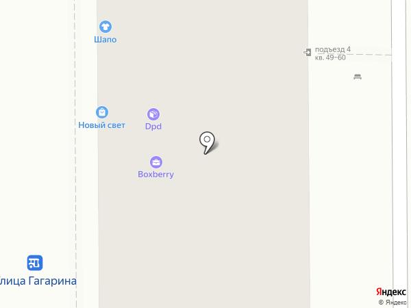 ШАПО на карте Магнитогорска