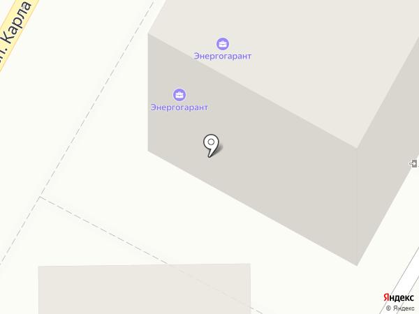 Центр страховых услуг на карте Магнитогорска