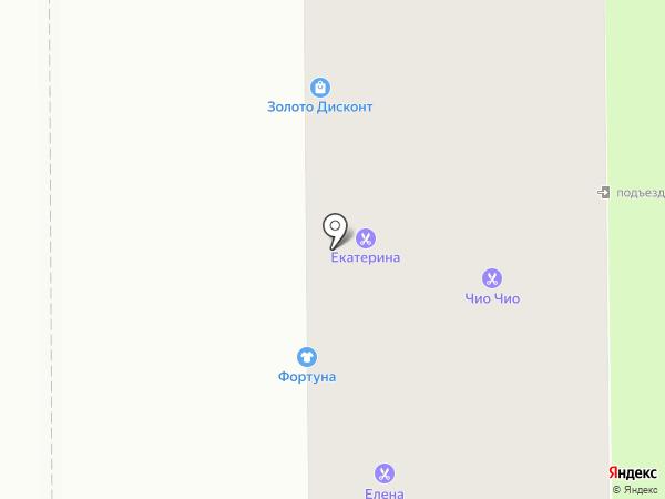 Дива-текс на карте Магнитогорска