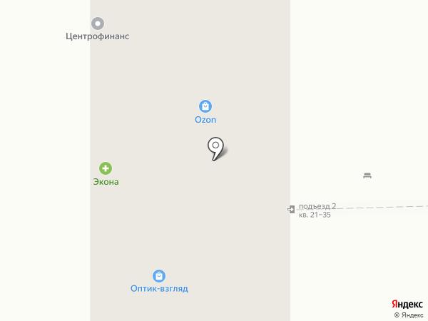 Элегант на карте Магнитогорска