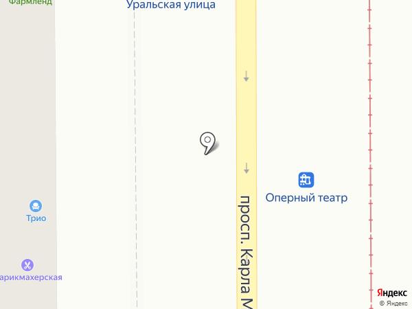 Ульяновские кухни на карте Магнитогорска