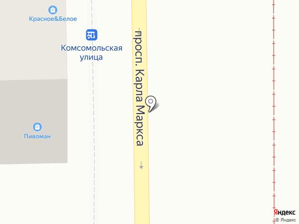 Ариант на карте Магнитогорска