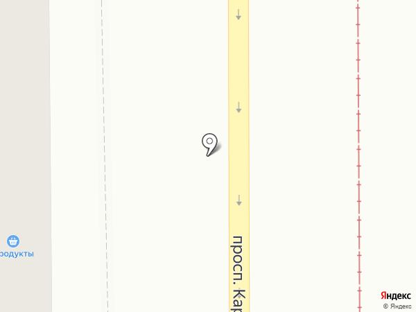 Солнышко на карте Магнитогорска