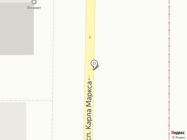 Мастерская комбината бытового обслуживания на карте Магнитогорска