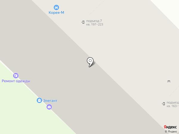 Хобби-Шик на карте Магнитогорска