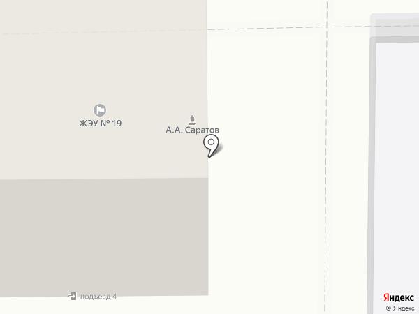 ЖЭУ №19 на карте Магнитогорска