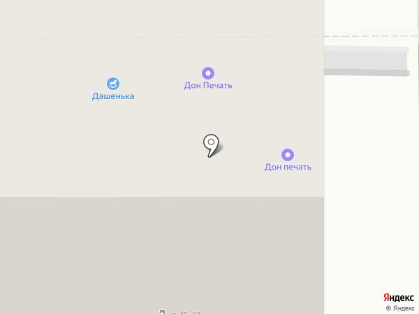 Стоп-офсет на карте Магнитогорска