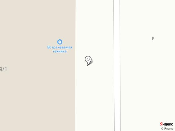 Калинка на карте Магнитогорска