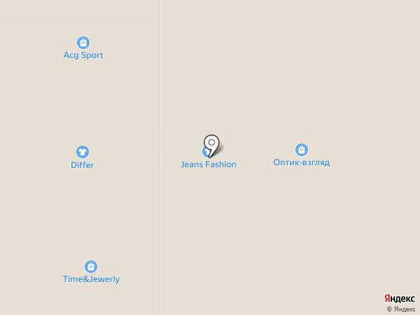 Оптик-Взгляд на карте Магнитогорска