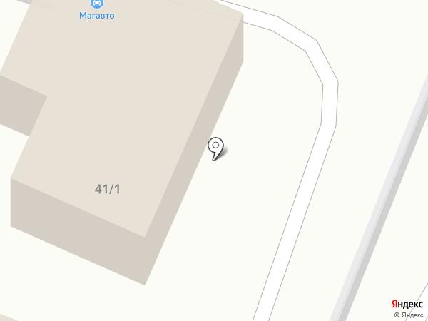 Солярис Авто на карте Магнитогорска
