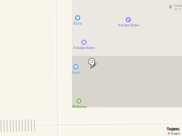 Живика на карте Магнитогорска