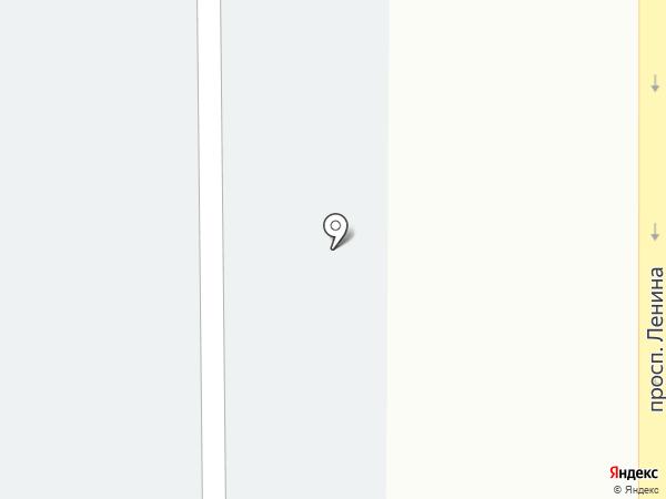 Стелла на карте Магнитогорска