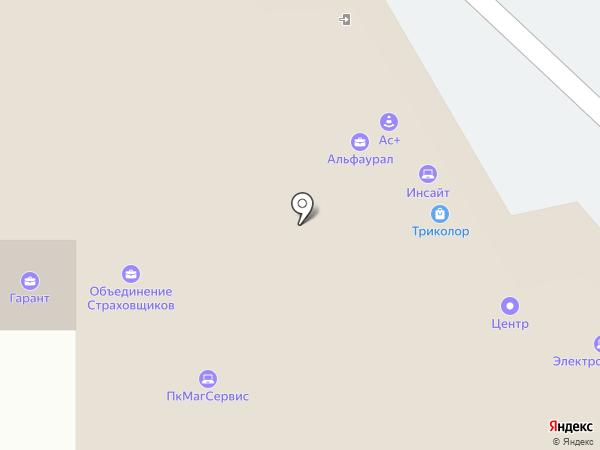Общественная приемная депутата по 15 округу Морозова С.А. на карте Магнитогорска