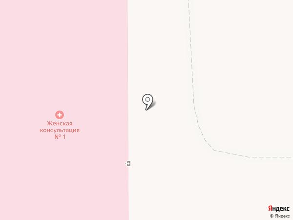Женская консультация №1 на карте Магнитогорска