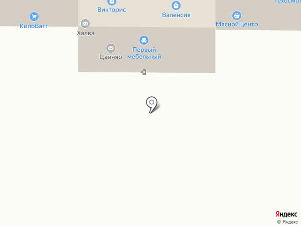 Салон каминов и мебели на карте Магнитогорска