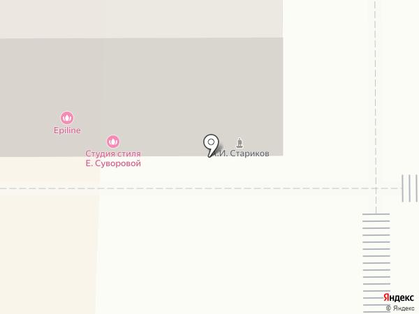 Студия стиля Екатерины Суворовой на карте Магнитогорска