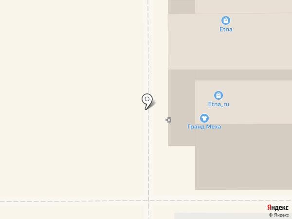 Меховой салон на карте Магнитогорска