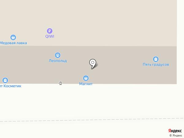 Первый Кеговый на карте Магнитогорска