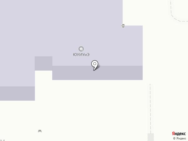 Южно-Уральский институт управления и экономики на карте Магнитогорска