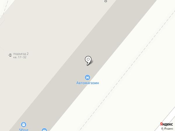 Магазин автозапчастей на карте Магнитогорска