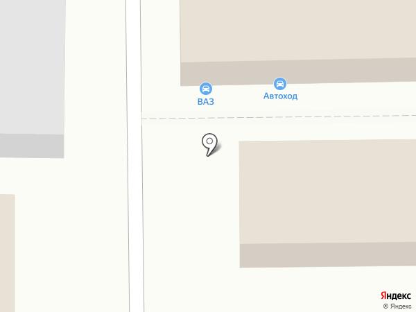 Магазин автозапчастей для ВАЗ на карте Магнитогорска