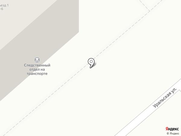 Магнитогорский следственный отдел на транспорте на карте Магнитогорска
