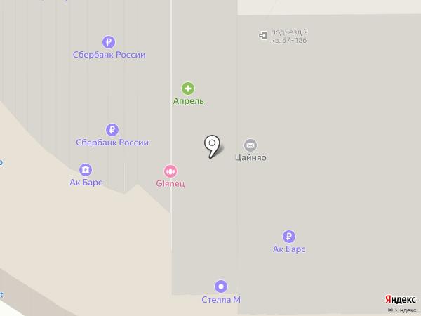 Территория женщин на карте Магнитогорска