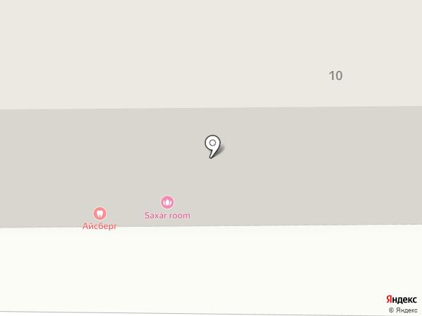 Букляндия на карте Магнитогорска