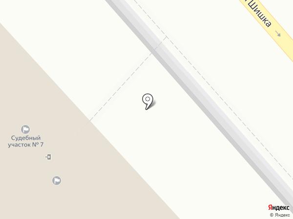 Мировые судьи Ленинского района на карте Магнитогорска