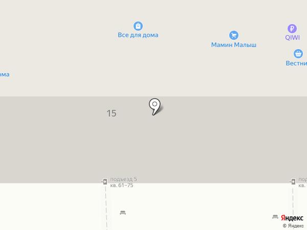 Мамин малыш на карте Магнитогорска
