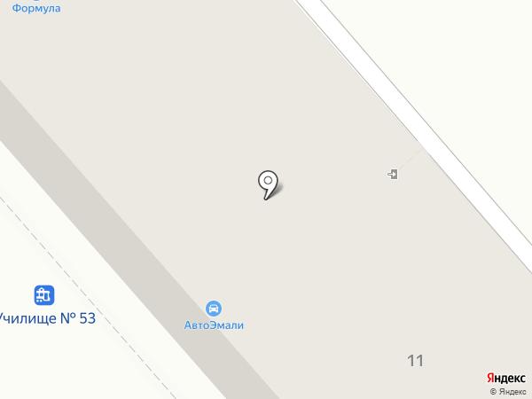 Магазин автоэмалей на карте Магнитогорска