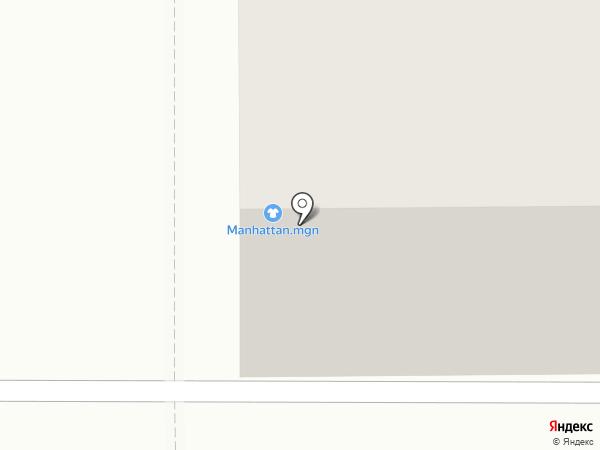 Manhattan на карте Магнитогорска