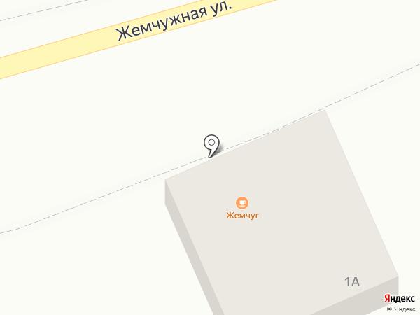 Ксюша на карте Магнитогорска