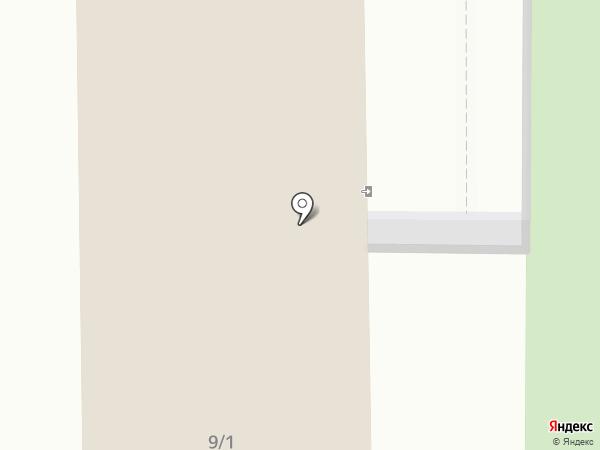 Бриз на карте Магнитогорска