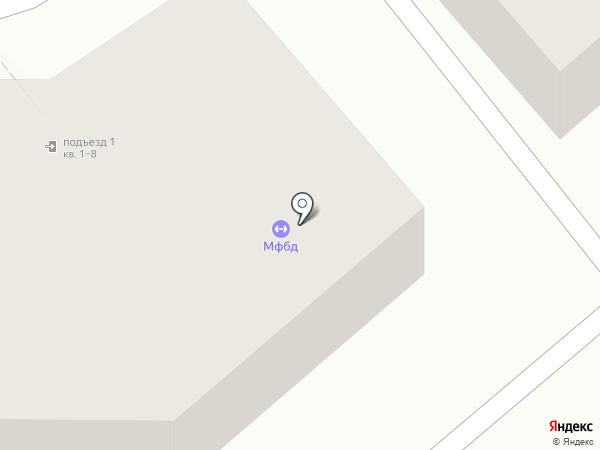 Спортивная база на карте Магнитогорска
