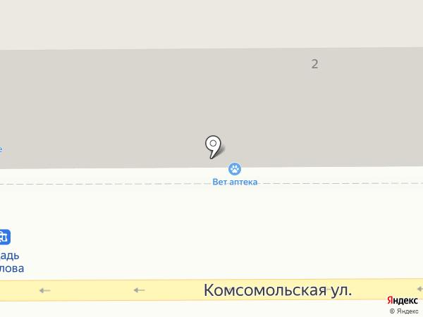 Гжель, магазин посуды и сувениров на карте Магнитогорска
