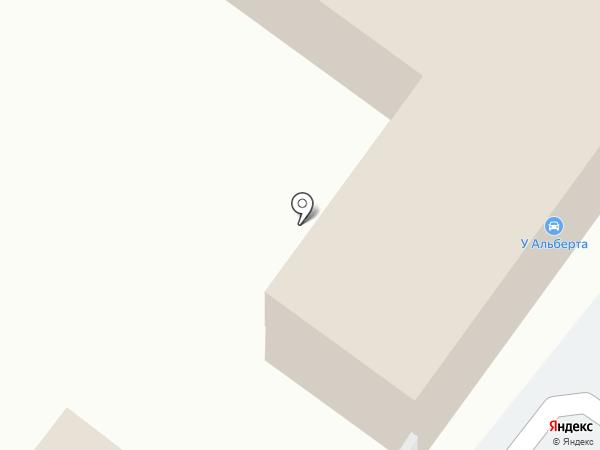 Автостеклосервис у Альберта на карте Магнитогорска