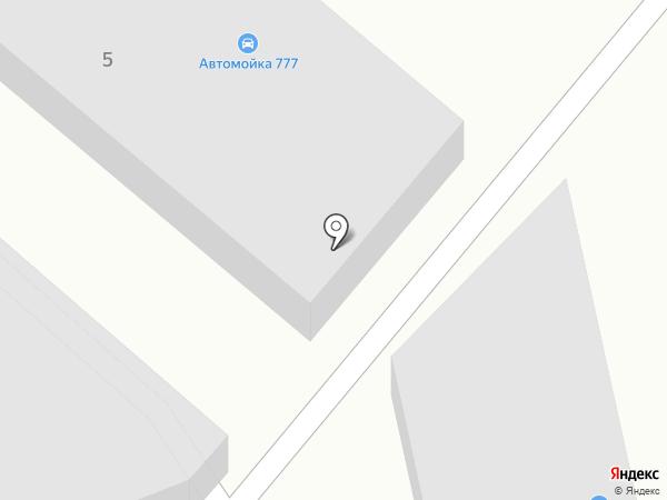 Автомойка 777 на карте Магнитогорска