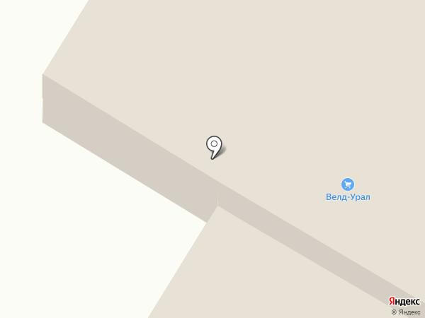Караван на карте Магнитогорска