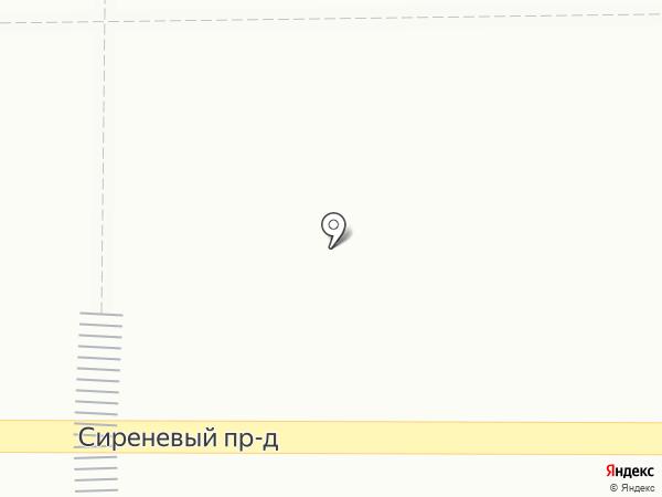 Киоск фастфудной продукции на карте Магнитогорска