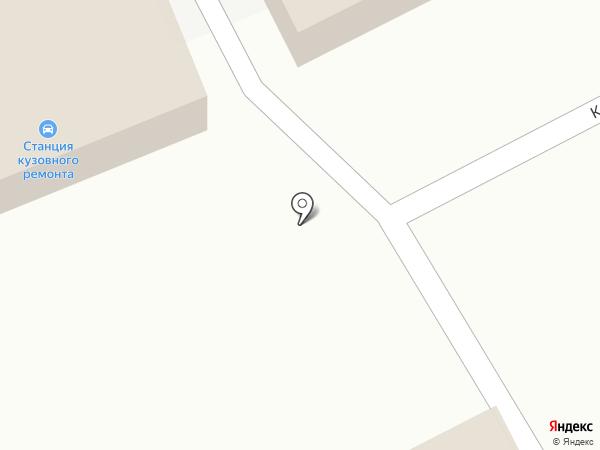 Станция кузовного ремонта на карте Магнитогорска