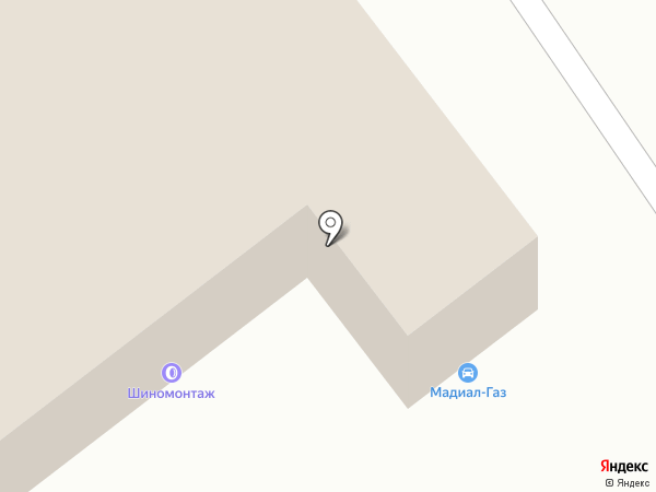 Синтез-Авто на карте Магнитогорска