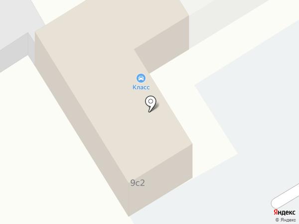 Миг на карте Магнитогорска