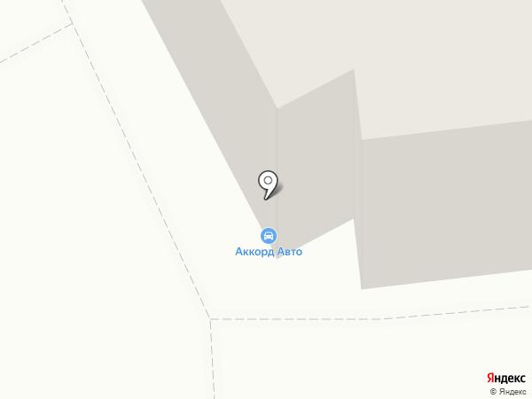 Аккорд-Авто на карте Магнитогорска