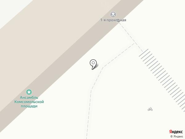Объединенная сервисная компания на карте Магнитогорска