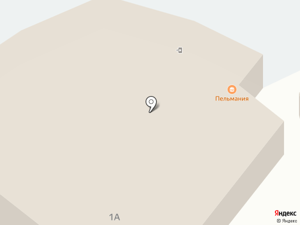 Пельмания на карте Магнитогорска