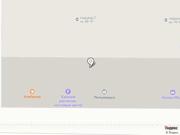 Равис на карте Магнитогорска