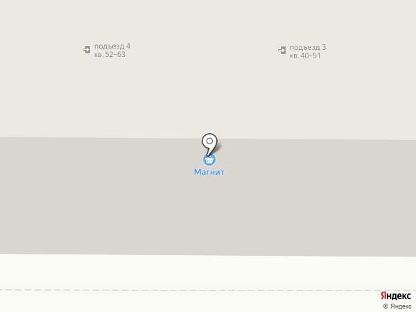 Магнит на карте Магнитогорска